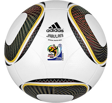 JABULANI OFFCIAL WORLD CUP MATCH BALL